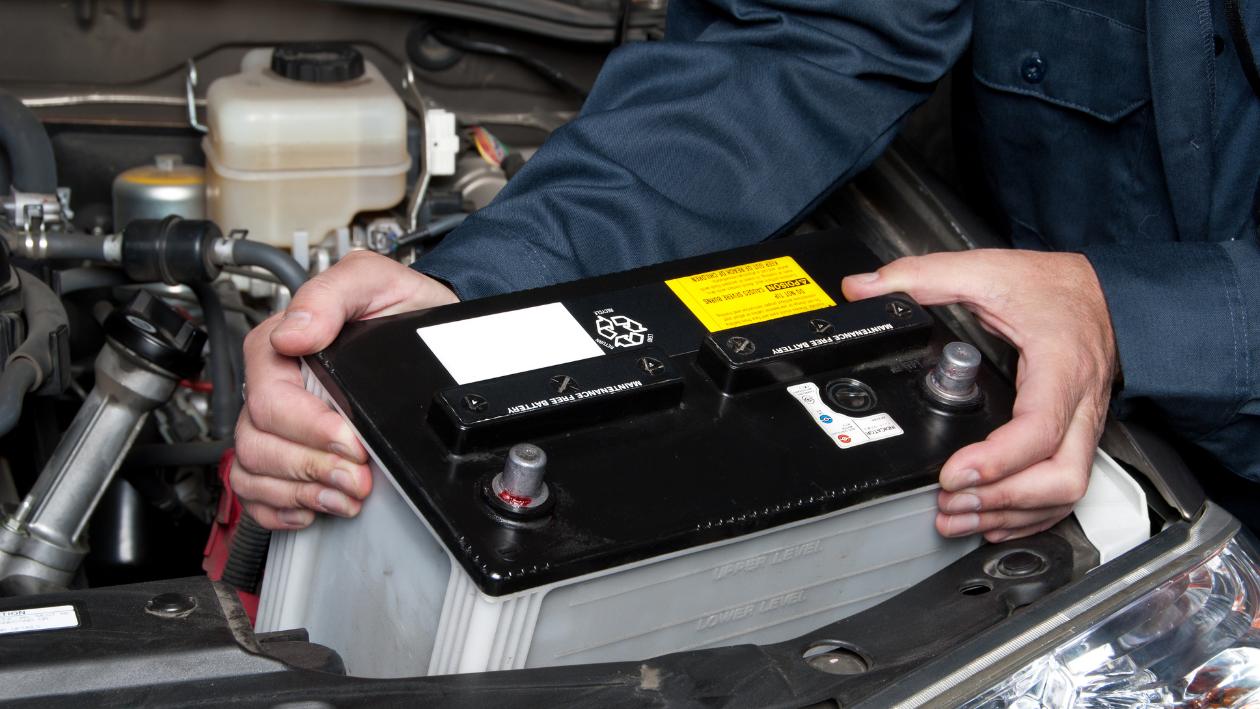 European Car needs a new battery